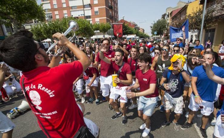 Primera jornada de las fiestas de Tudela de Duero