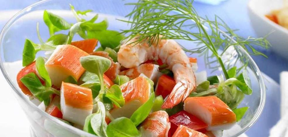 Surimi: 'Carne picada de pescado'