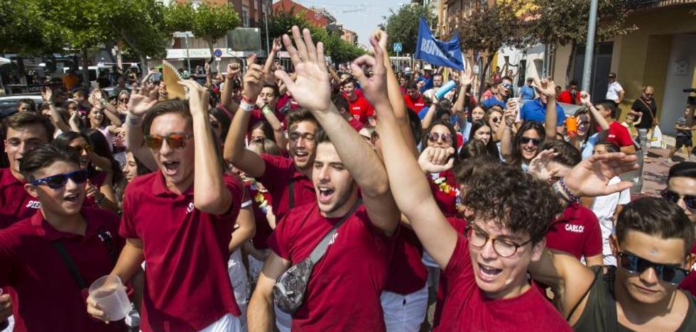 El pregón y el desfile de peñas inauguran las fiestas de Tudela