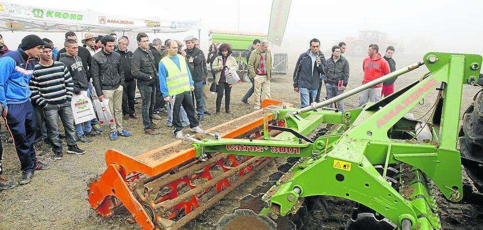 52 jóvenes toman el relevo y se convierten en agricultores profesionales en Palencia