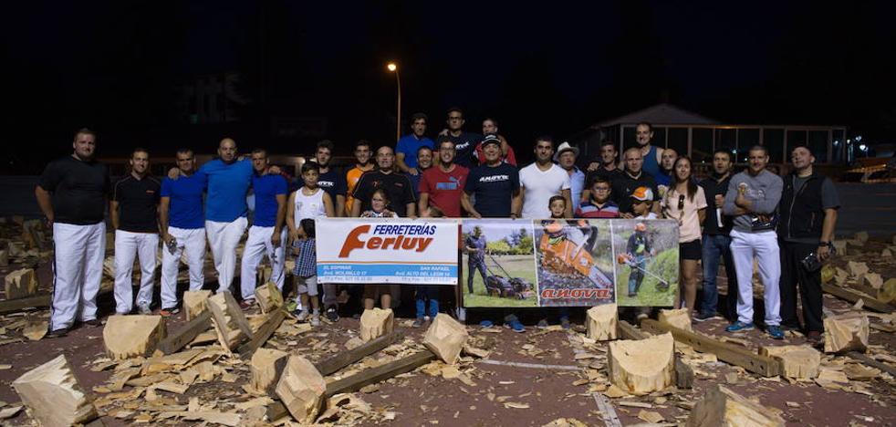 Los mejores cortadores de troncos se citan en El Espinar