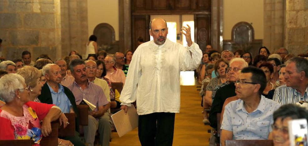 José Luis de Castro gana el premio comarcal de las Justas Poéticas de Dueñas