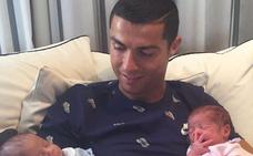 Cristiano Ronaldo, un padrazo feliz
