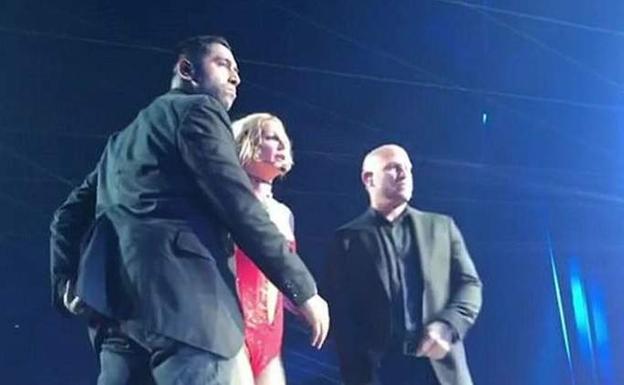Un hombre armado atemoriza a Britney Spears
