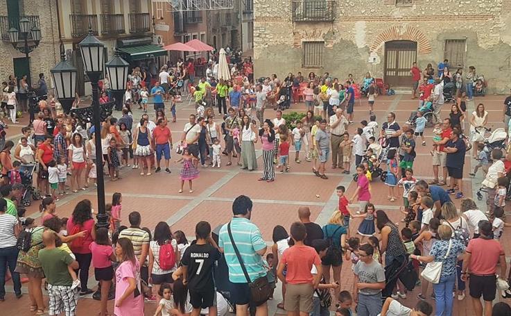 Fiestas en Aldeamayor de San Martín (Valladolid)