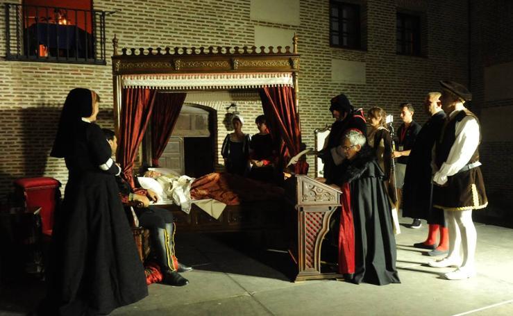 Medina del Campo recrea la muerte de Isabel la Católica