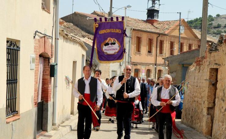 Villaconancio festeja a la Virgen de Mediavilla