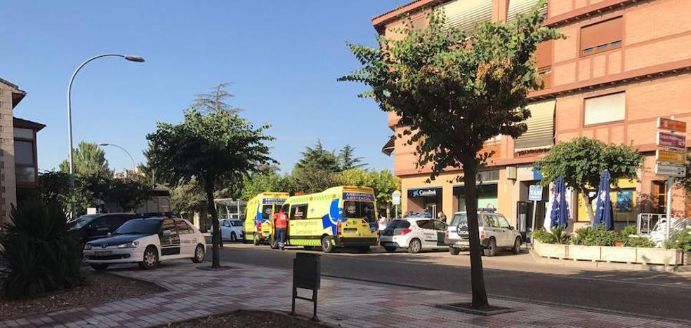 Herido el subdirector de La Caixa en Dueñas durante un atraco