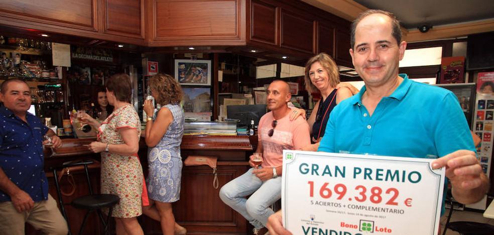 ¿Quién es el vecino agraciado con casi 170.000 euros en la bonoloto?