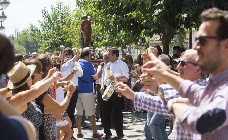 Procesión de San Roque en Viana de Cega