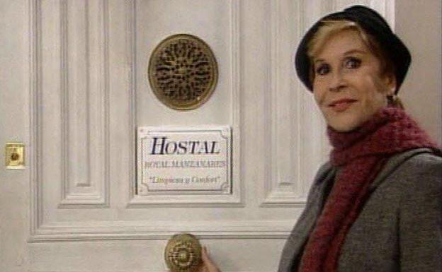 Lina Morgan cobraba 32 millones de pesetas por cada capítulo de 'Hostal Royal Manzanares'