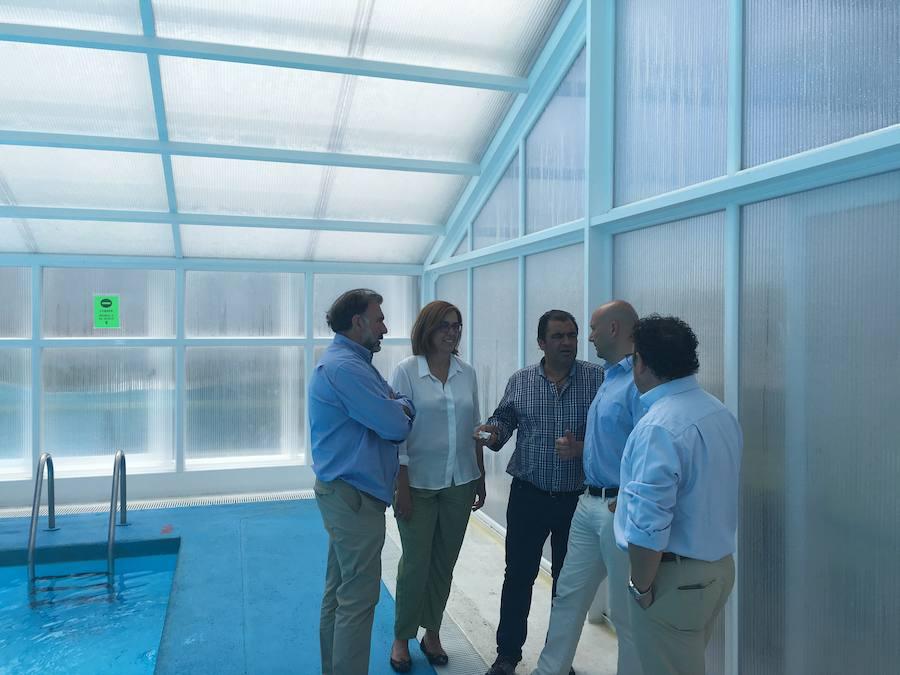 La Diputación destina 85.500 euros a cubrir la piscina de Saldaña