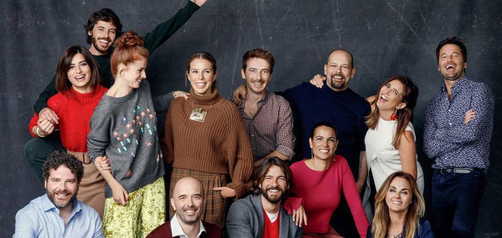 Multitudinario reencuentro de los actores de 'Al salir de clase'