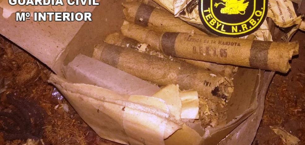 Encuentran explosivos en el desván de una casa de Fresnadillo de Sayago