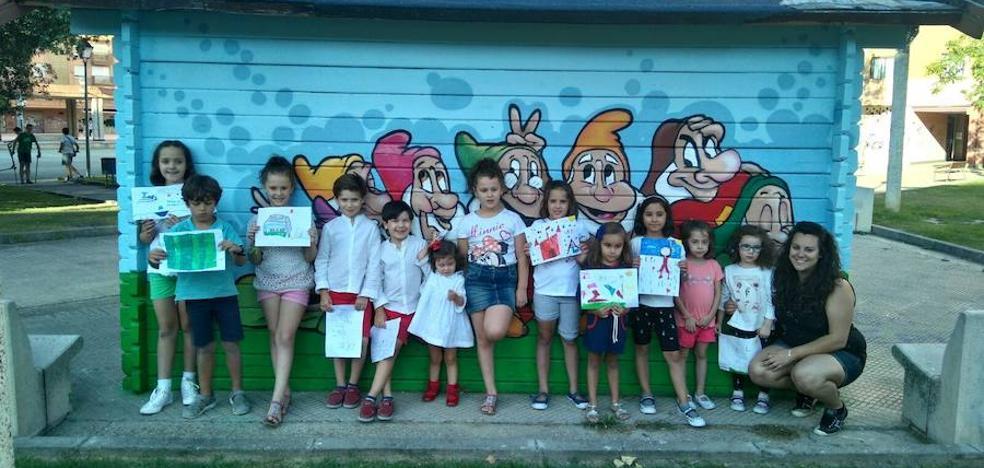 618 niños han participado en el nuevo programa de Parquecuentos de Palencia