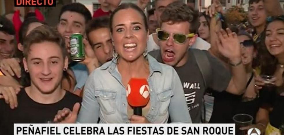 La Asociación de Prensa defiende a una reportera hostigada en las fiestas de Peñafiel