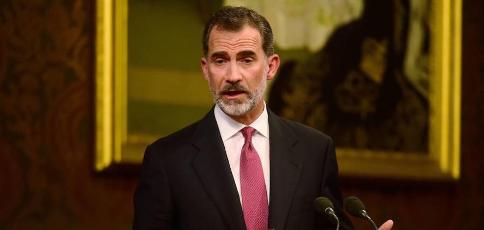 Felipe VI participará en el minuto de silencio en Barcelona