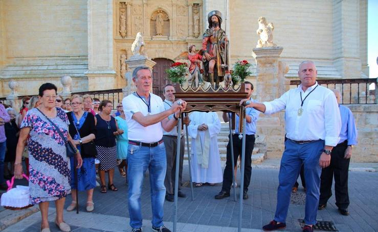 Celebración de San Roque en Medina de Rioseco