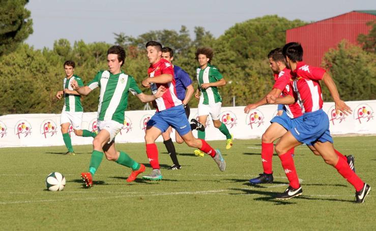 El Atlético Tordesillas jugará la final del Trofeo Diputación tras imponerse al Betis (1-4)