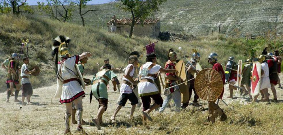 Soria celebra la 'Vulcanalia' con espectáculos didácticos, recreaciones de rituales y desfiles