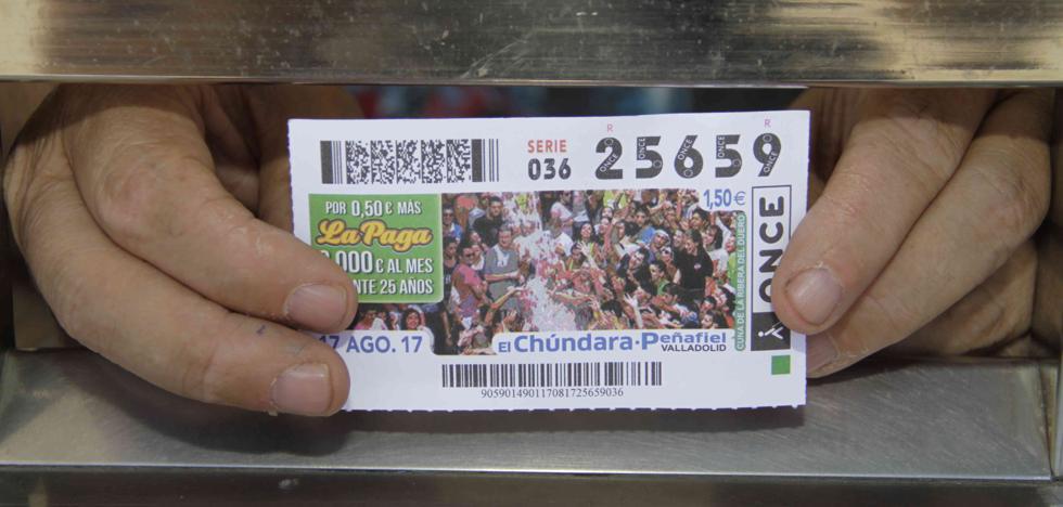 La ONCE reparte 3.000 euros del Super Once en Peñafiel