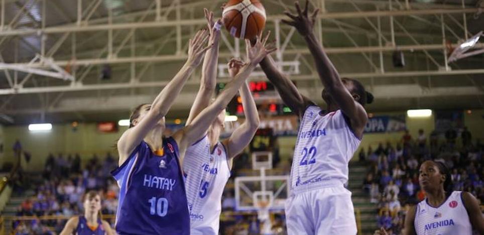 Hatay y Galatasaray, primeros rivales del CB Avenida en Nicosia