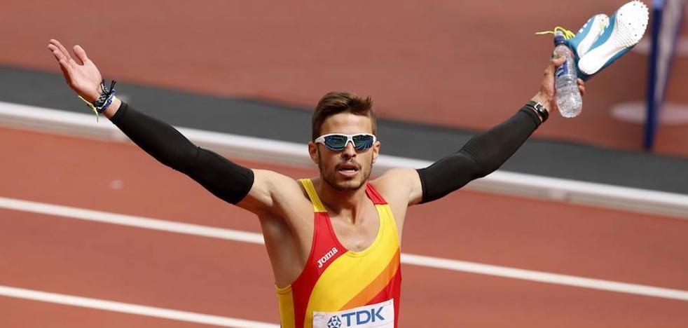 Óscar Husillos: «Viendo el nivel que tenemos, hay que apostar por los relevos»