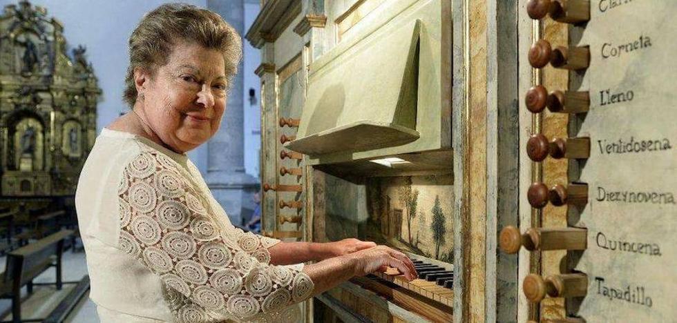 Muere la organista Lucía Riaño