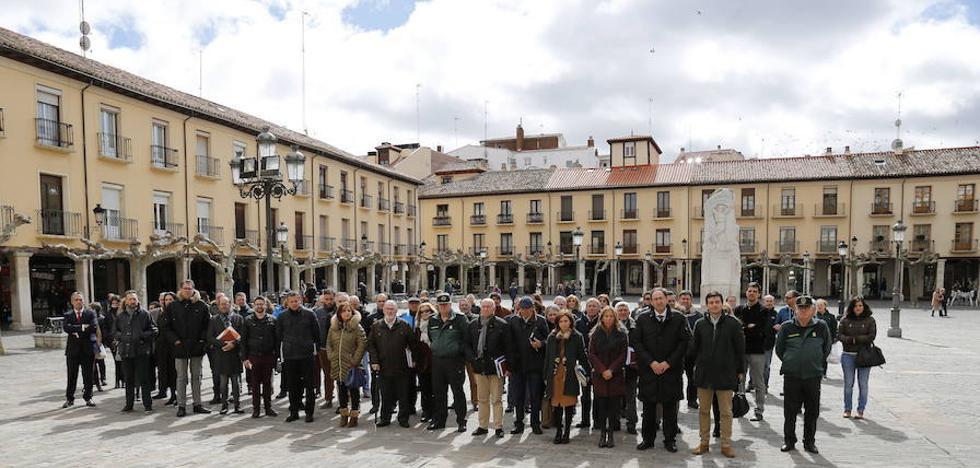 Palencia se suma al dolor del terrorismo