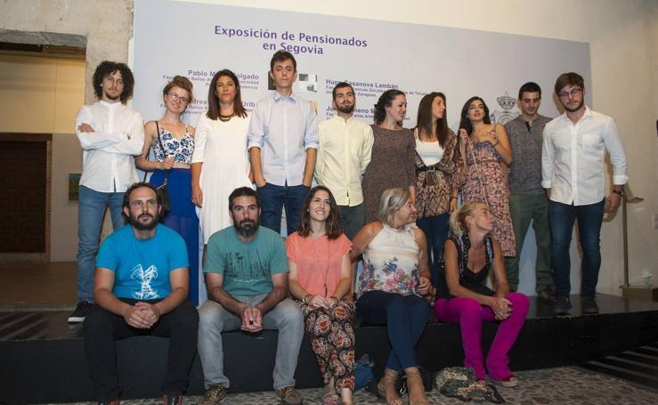 Segovia despide a los pintores pensionados