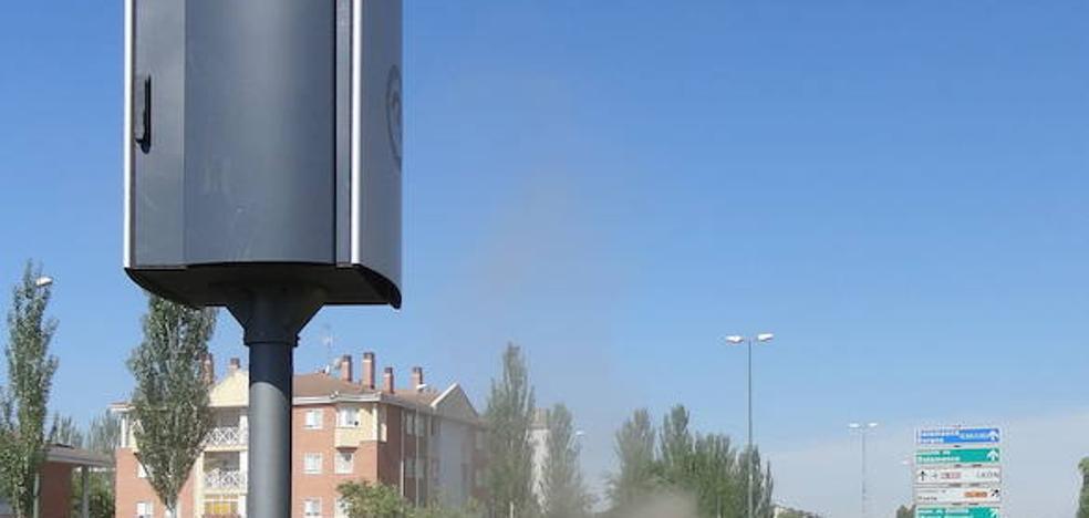 Los radares multan menos en Valladolid capital