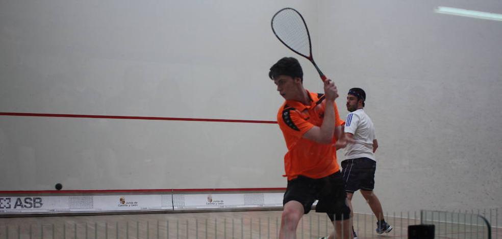 Los 20 primeros del ranking nacional, en el Open de Squash 'San Antolín'