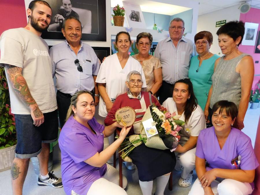 Mariana cumple un siglo