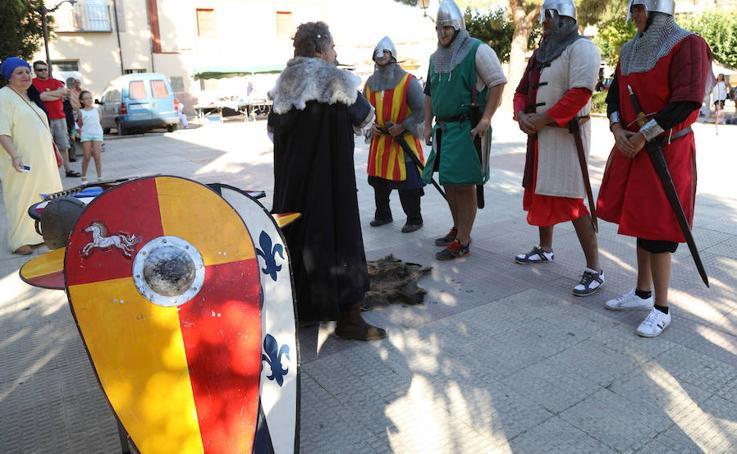 Batalla nabal en Monzón de Campos