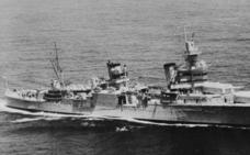 Hallan los restos de un barco de la II Guerra Mundial hundido hace 70 años