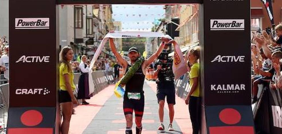 Clemente Alonso McKernan conquista el Ironman de Kalmar