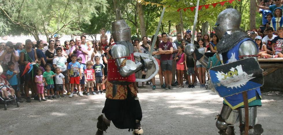 La época medieval atrae multitudes