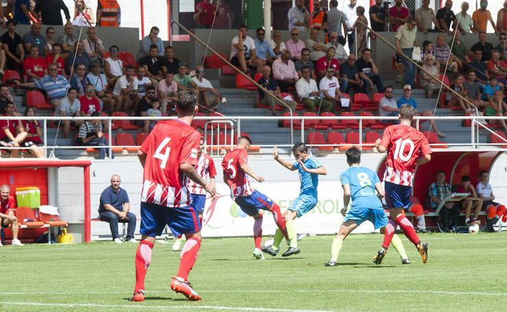 Atlético de Madrid B - Gimnástica Segoviana