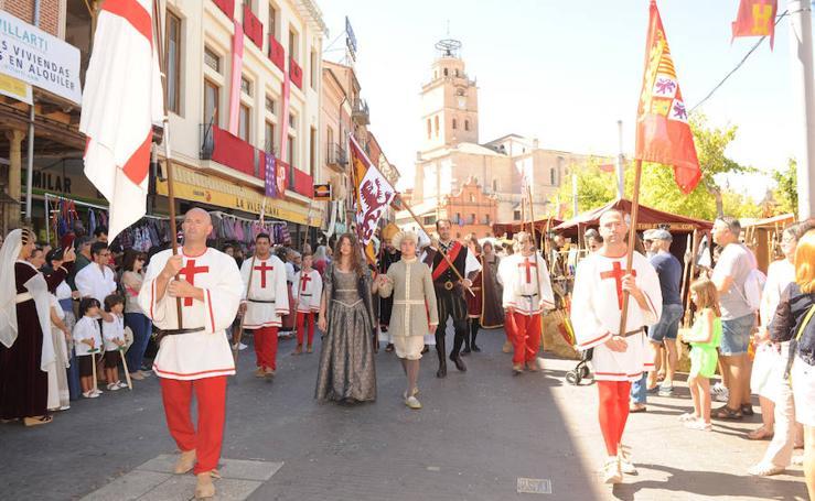 Ambiente en la Feria Renacentista de Medina del Campo. Domingo