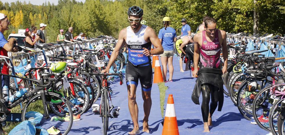 Perales y Sánchez se imponen en el Triatlón Olímpico de Lantadilla