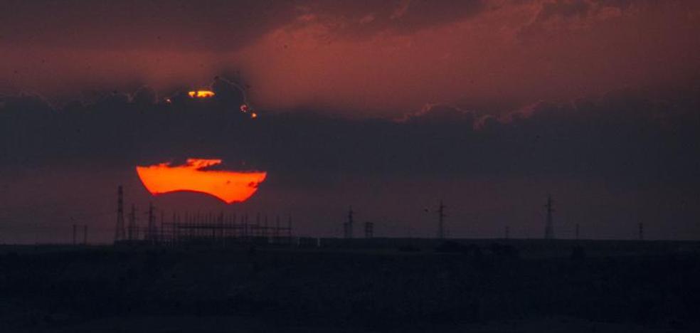 El eclipse llega a Valladolid