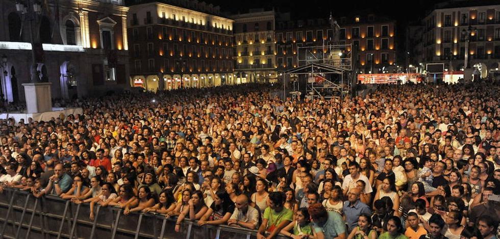 Programa del viernes 8 de septiembre de las Fiestas de Valladolid 2017