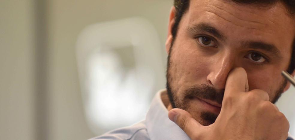 Alberto Garzón se casa el 26 de agosto en La Rioja