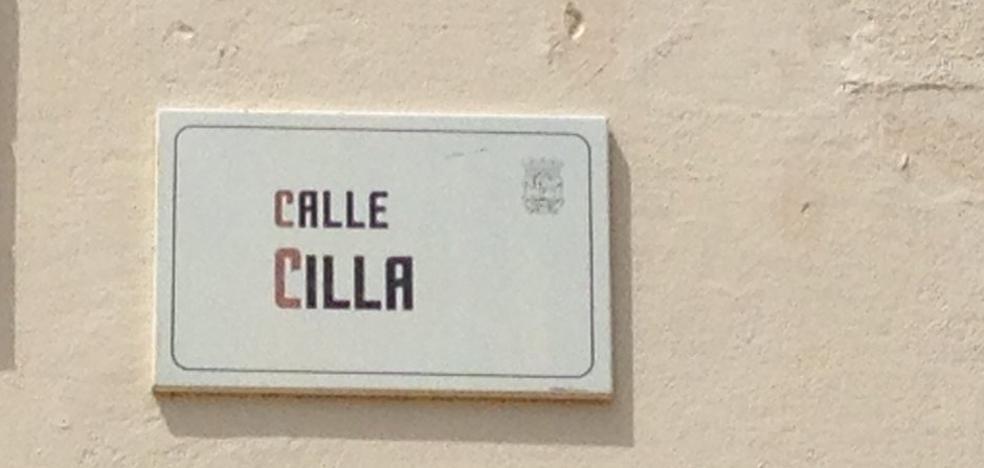 La 'Calle Cilla' y otros nombres curiosos