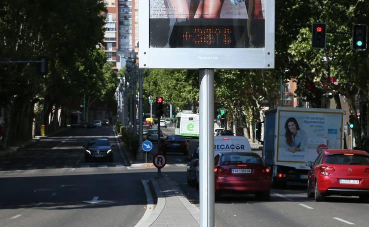 Vuelve el calor a Valladolid