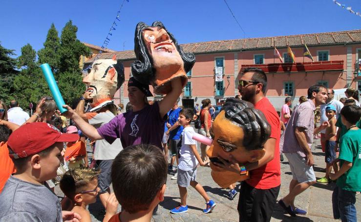 Jornada del lunes en las fiestas de La Granja (Segovia)