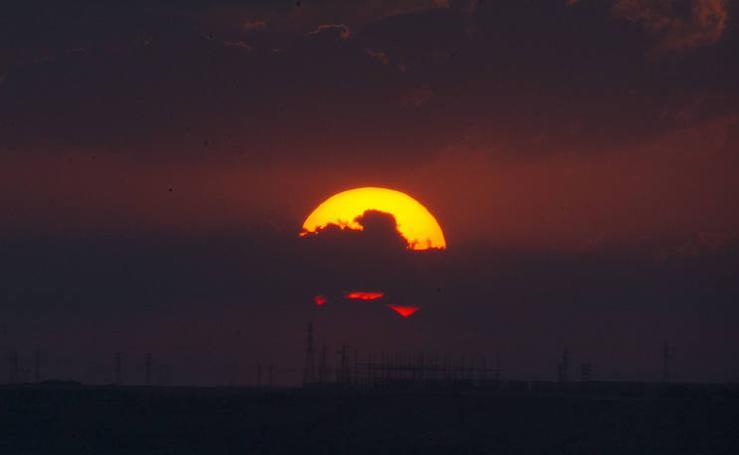 Eclipse parcial de sol en Valladolid