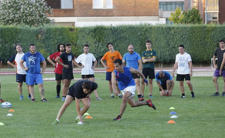 El Physiorelax Palencia Rugby Club arranca la pretemporada