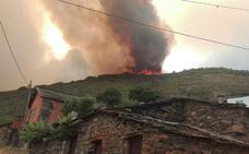 «Esto es un infierno, y no sabemos lo que durará», aseguran los evacuados por las llamas