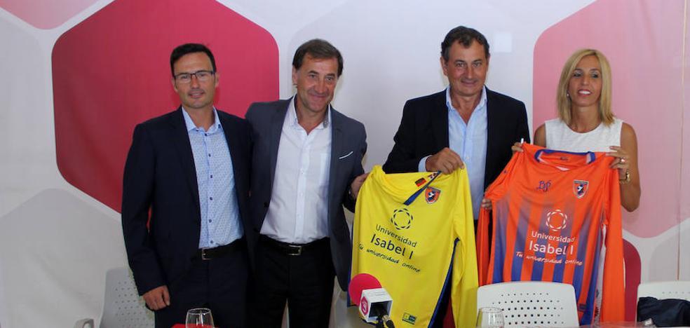La Universidad Isabel I presenta un convenio de colaboración con el Club Deportivo Burgos Promesas